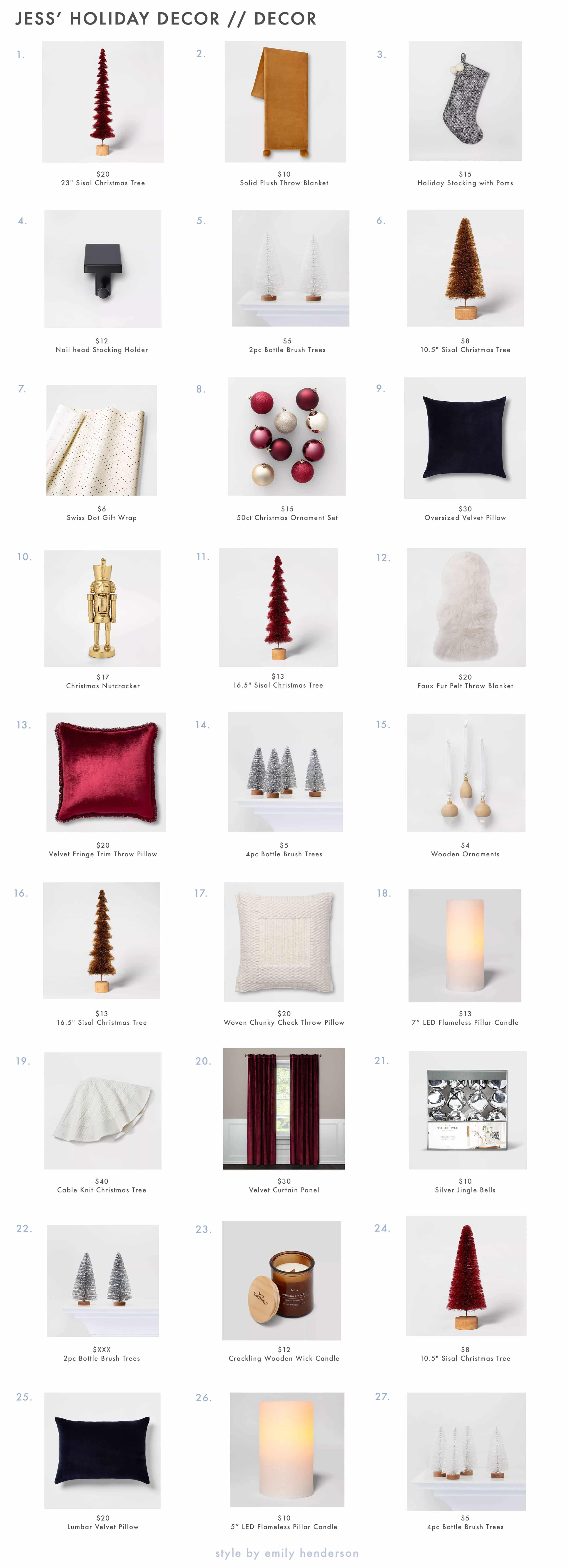 Emily Henderson minimal christmas decorating ideas13