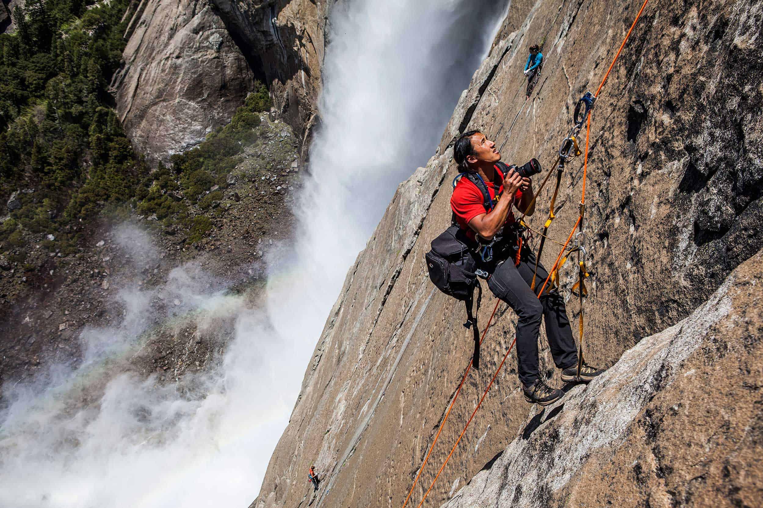 Jimmy Chin Profile Freestone Route Yosemite Falls