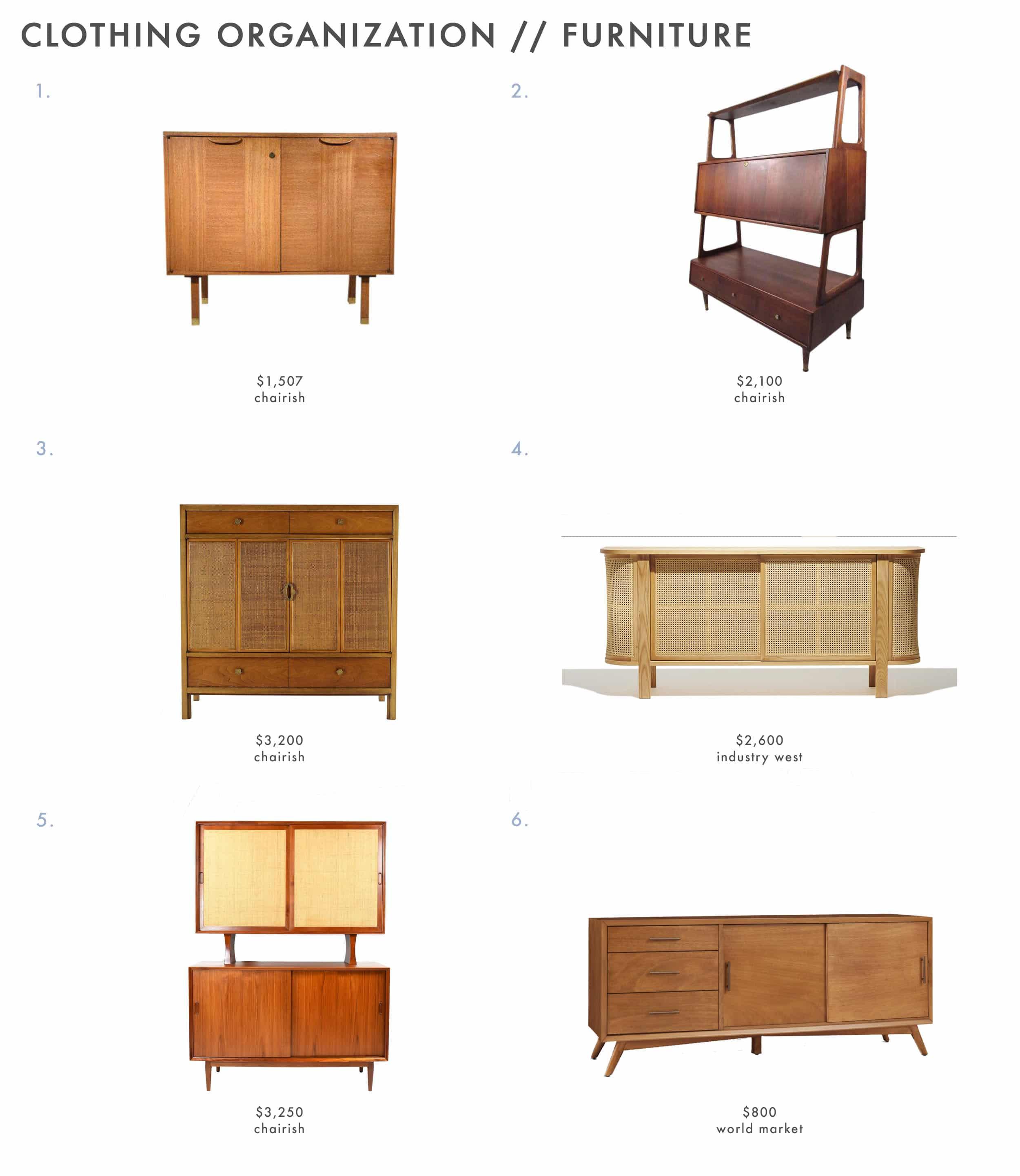 Closet Storage Furniture