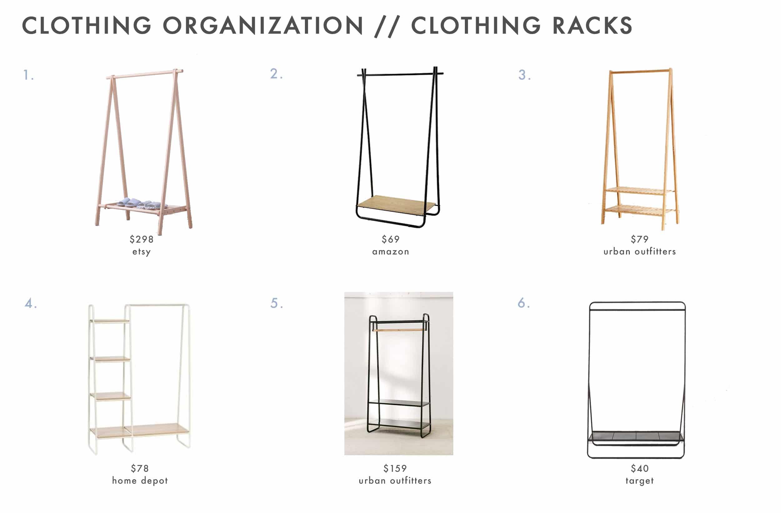 Closet Storage Rack