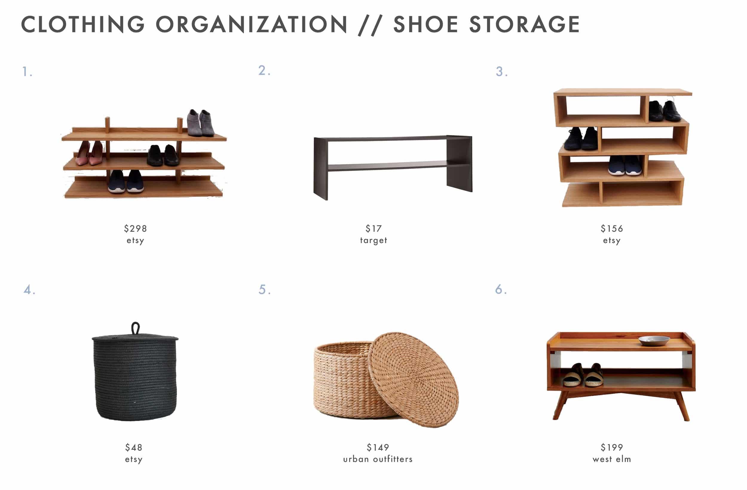 Closet Storage Shoe Products