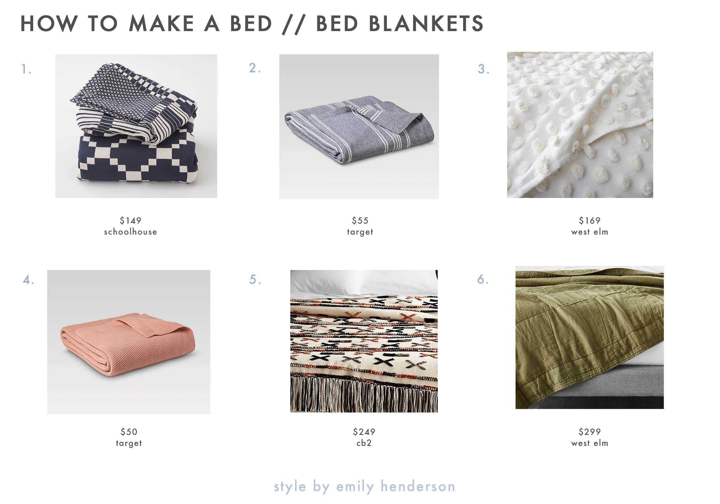Emily Henderson How To Make A Bed Bed Blankets