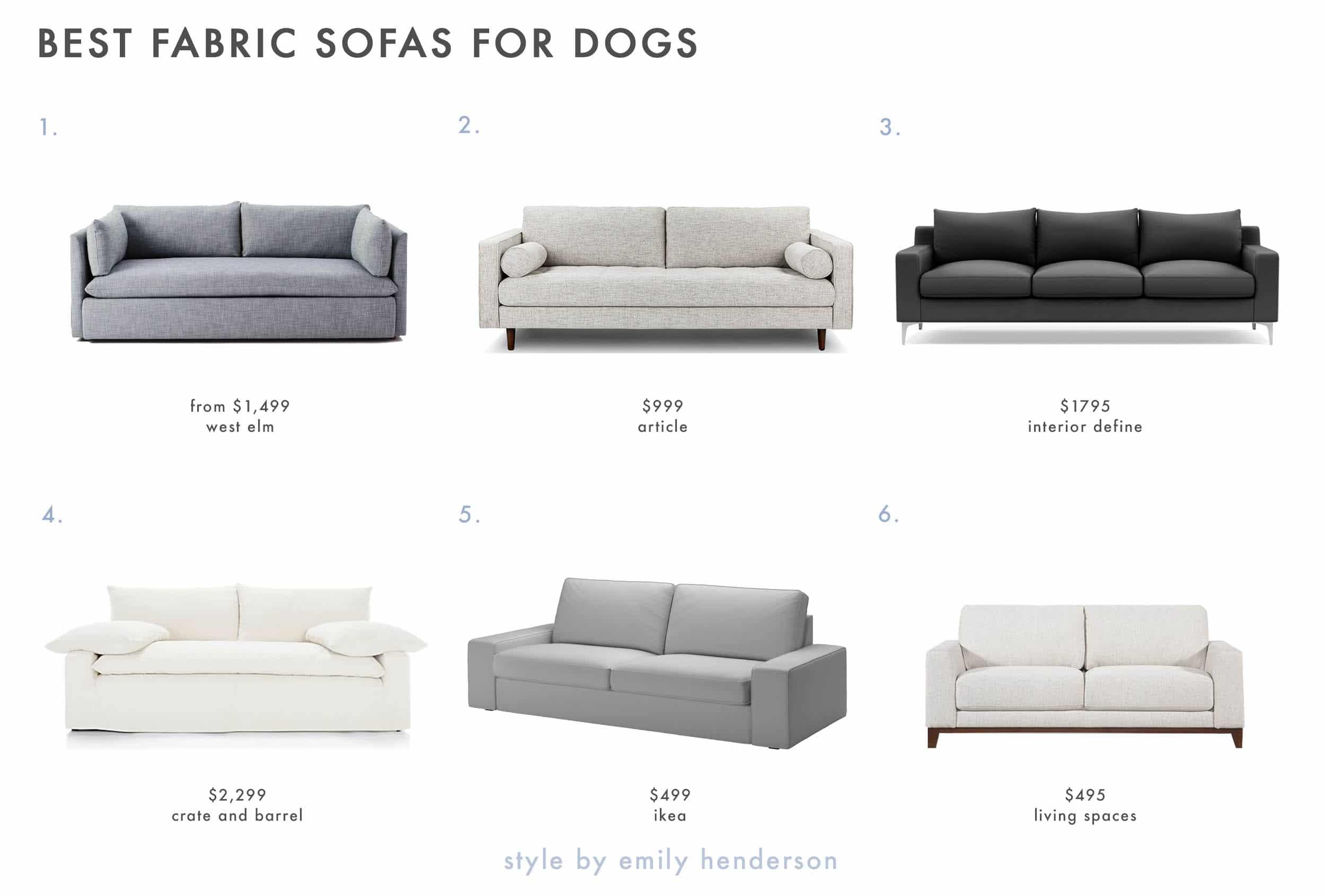 Dog Friendly Fabric Sofa Copy