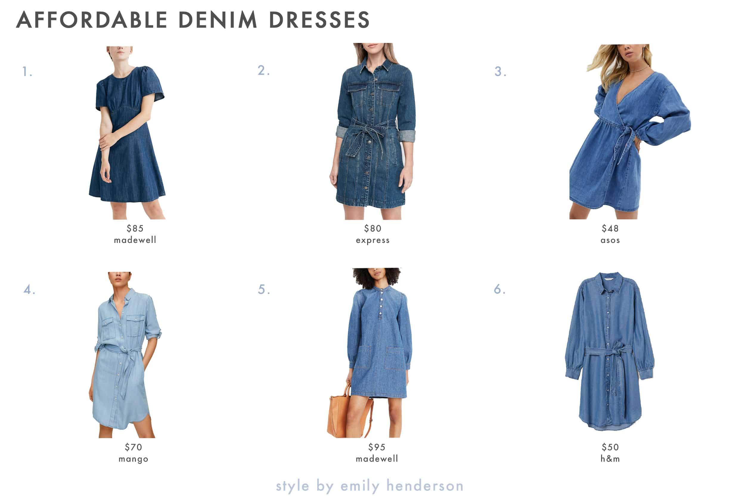 Emily Henderson Spring Dresses Denim