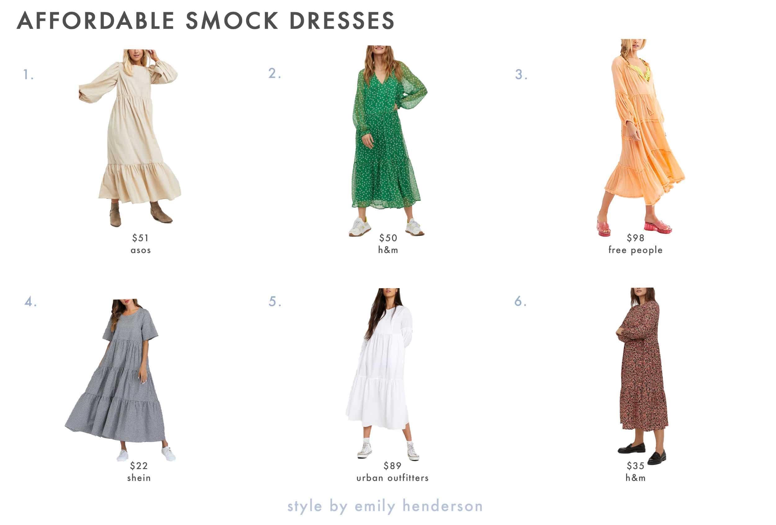 Emily Henderson Spring Dresses Smock