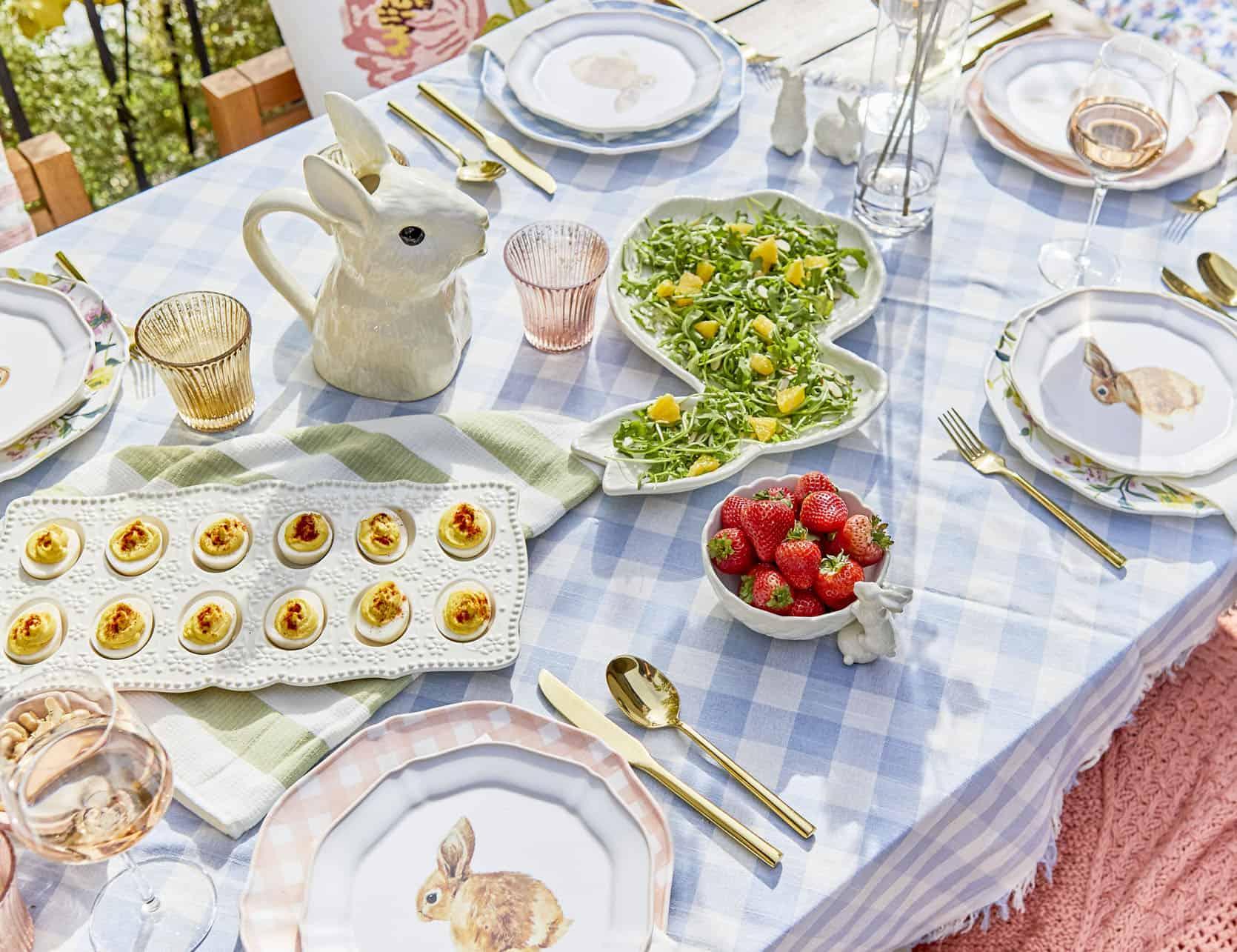 Emily Henderson Easter Lunch Ideas 31