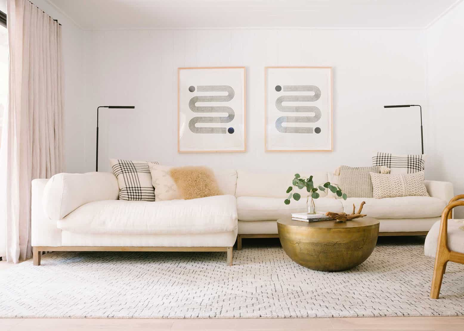 How To Choose The Right Rug Size For Your Living Room - 4 Formulas