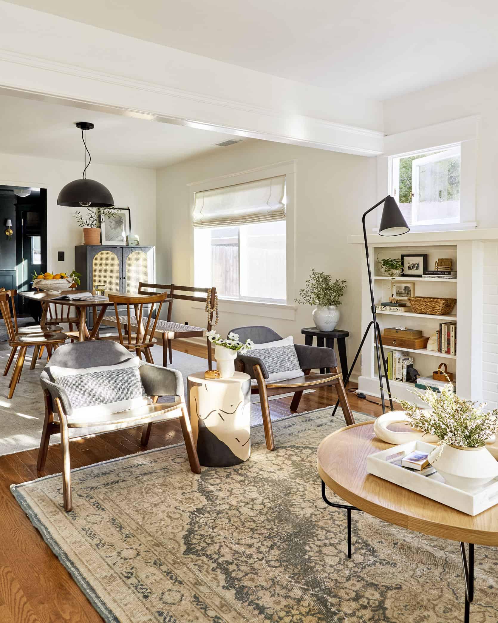 Sara S Living Room Dining Room Reveal Emily Henderson