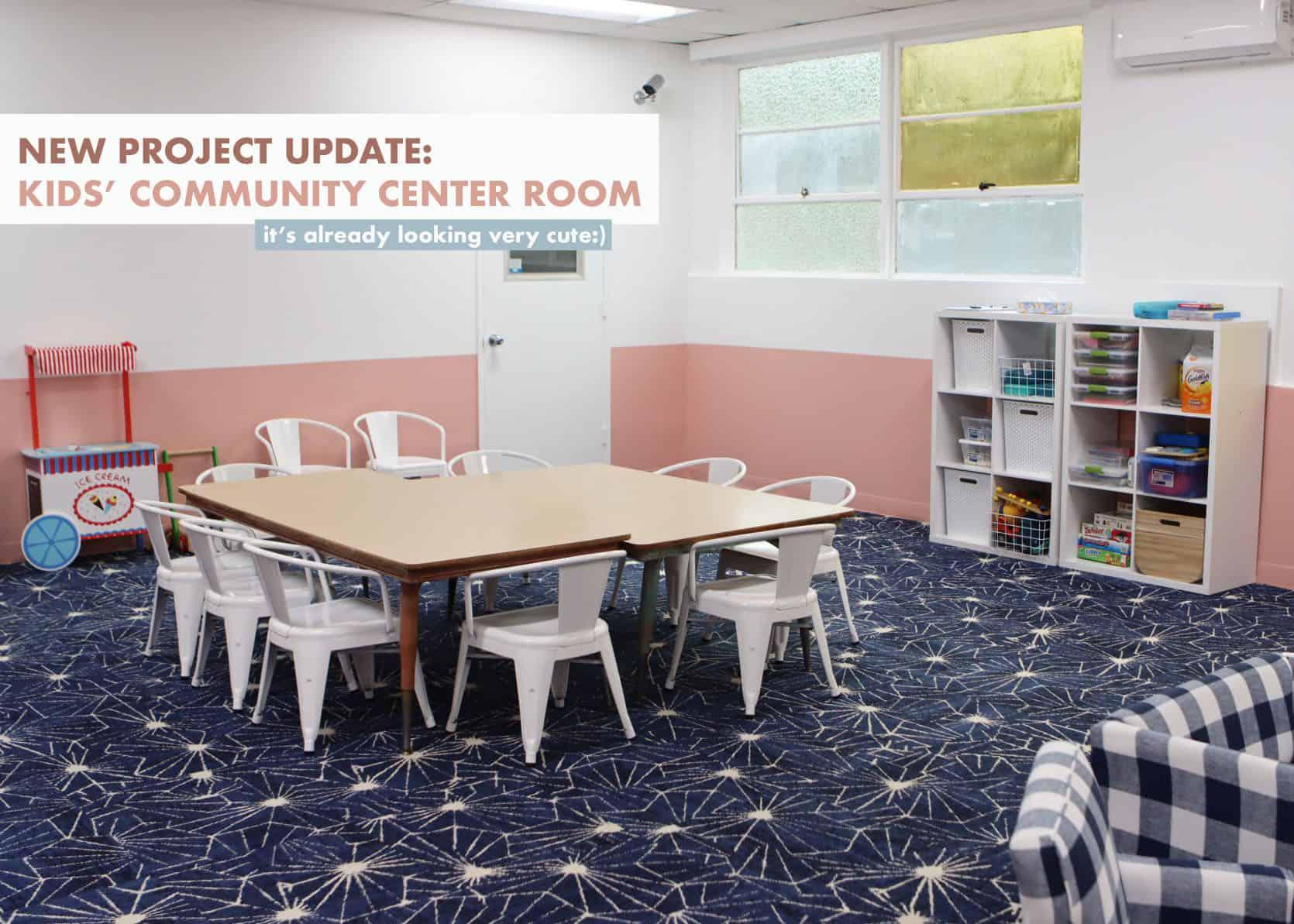 Community Center Kids Room Nursery
