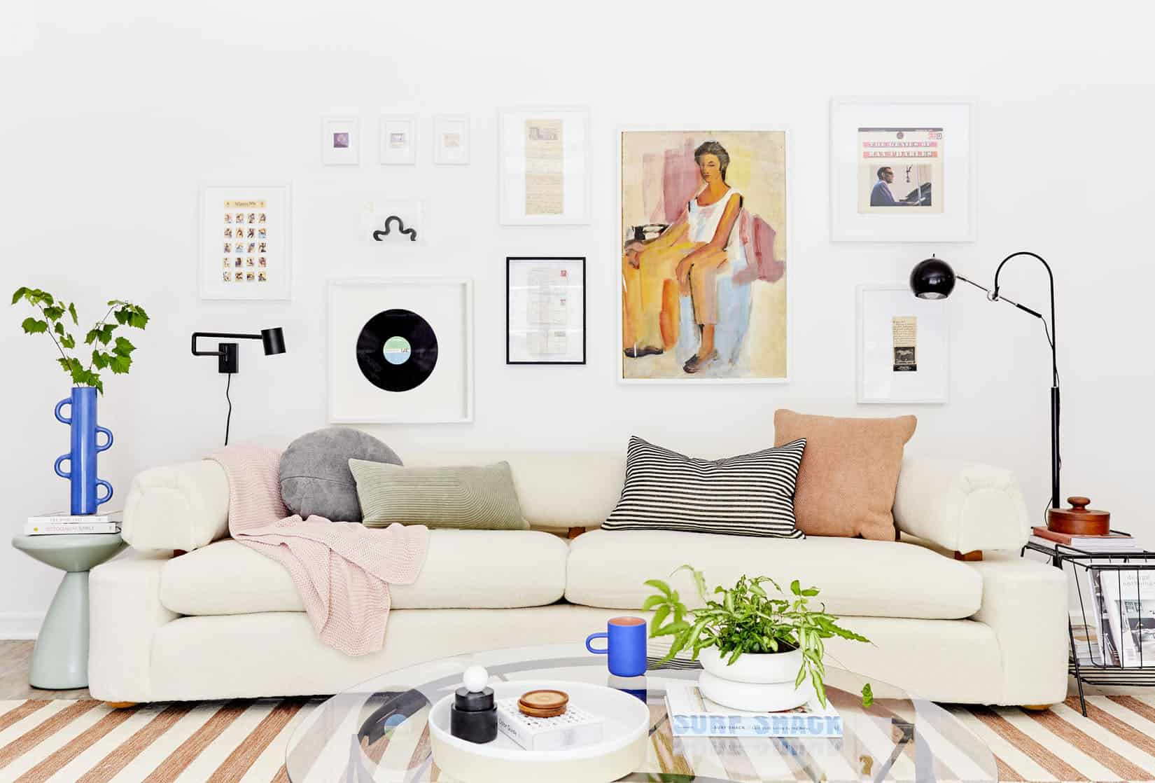 How To Actually Make A Gallery Wall Our No Fail Formula We Use Every Time Our Favorite Original Art Resources Emily Henderson
