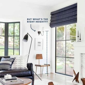 Design 101 How High To Hang Your Sconce In Every Room 48 Of Our Favorite Picks Emily Henderson