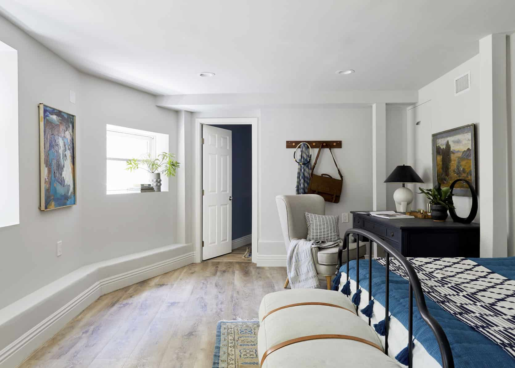 Our Guest Room/Office Basement Suite Reveal ... + How To ...