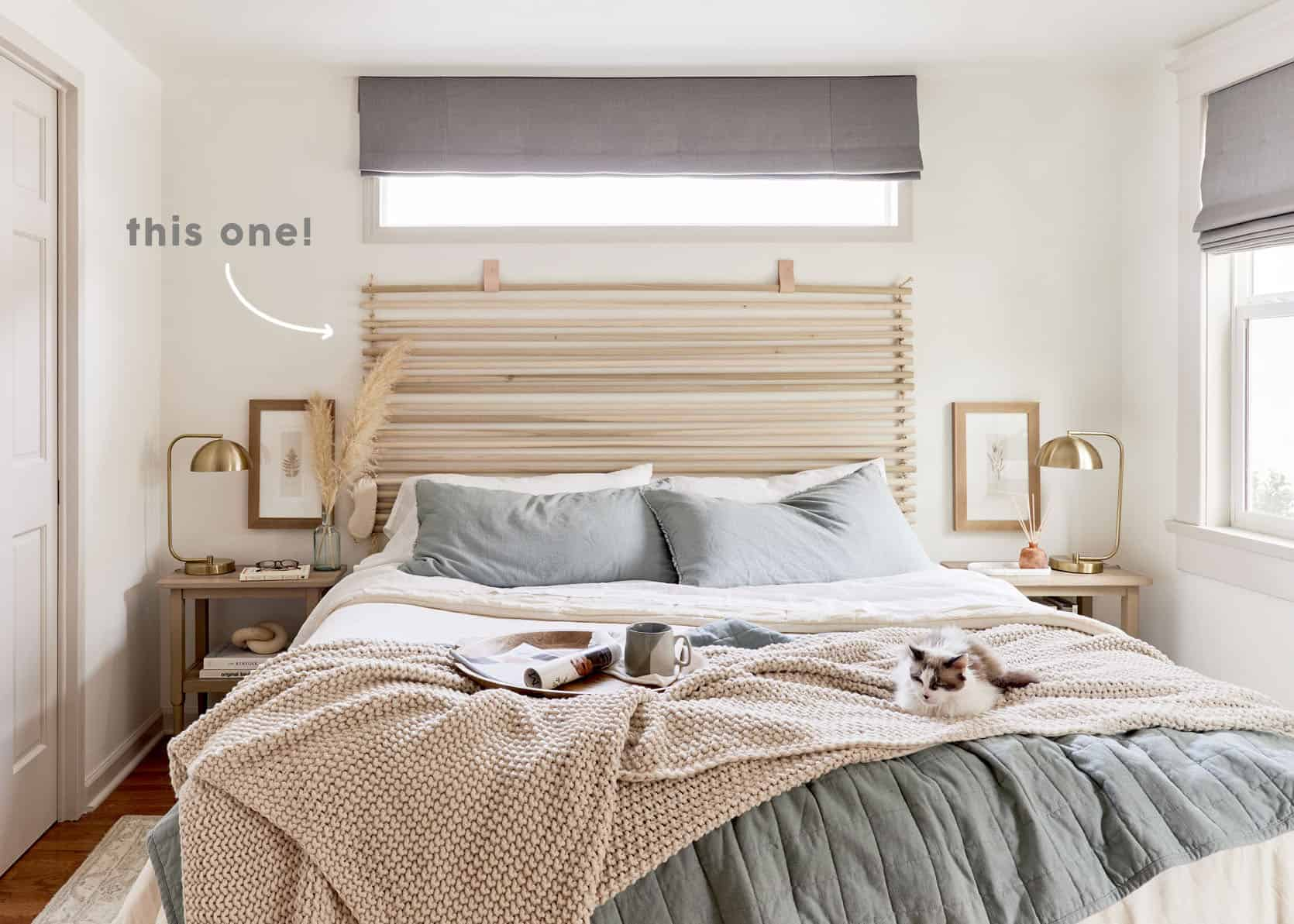 The Diy Headboard You All Wanted To Know About Emily Henderson