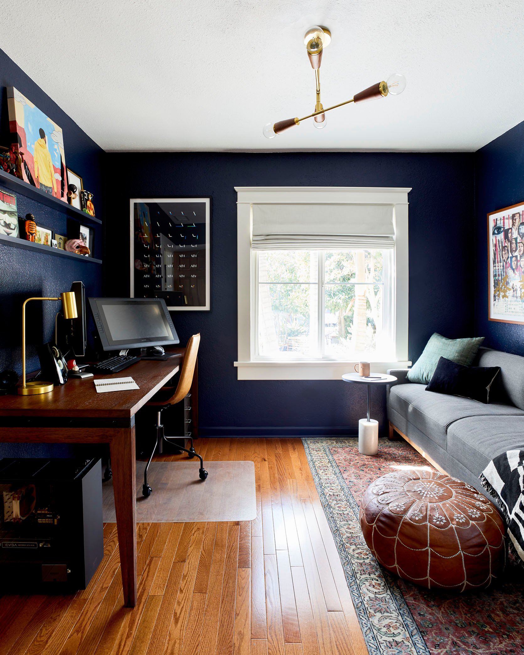 Painting Ideas For An Office from stylebyemilyhenderson.com