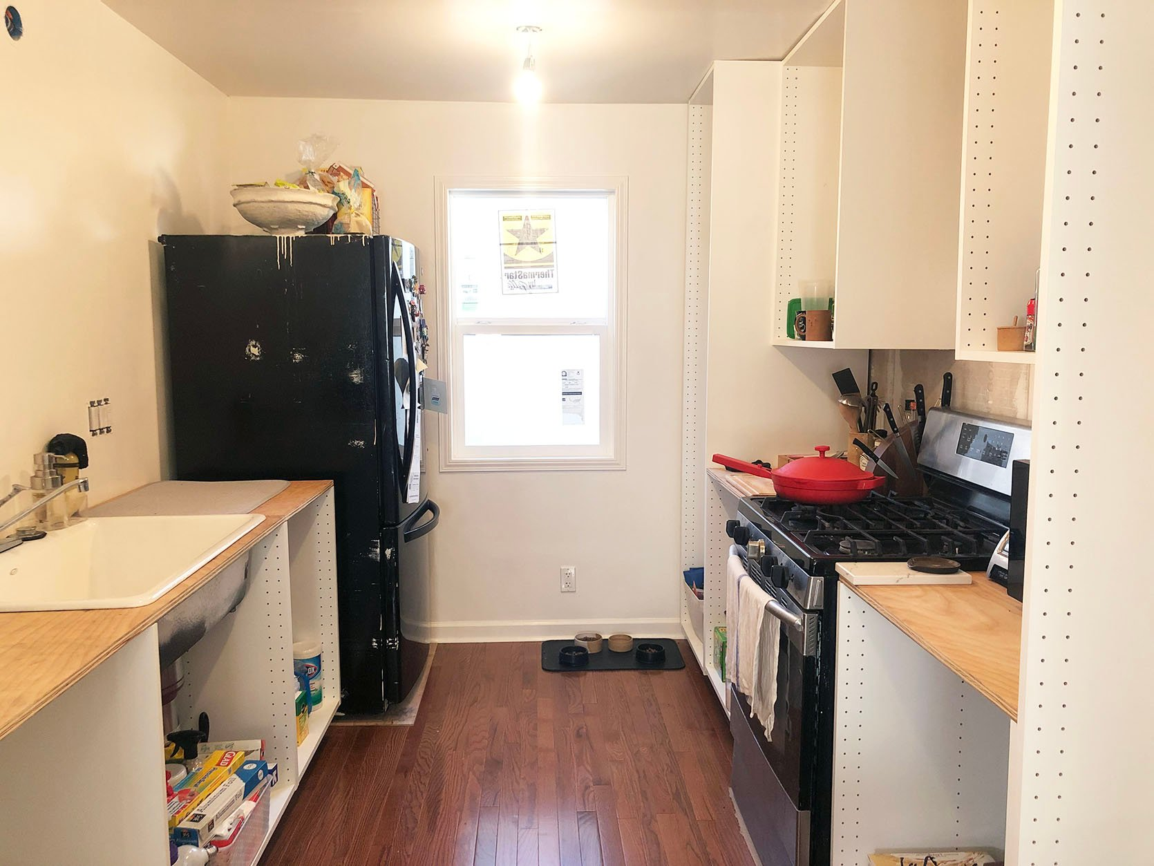 Sara S Dream Galley Kitchen Cabinet Layout Ikea Boxes A Cabinet Fronts Company You Should Know About Some Very Special Details Emily Henderson