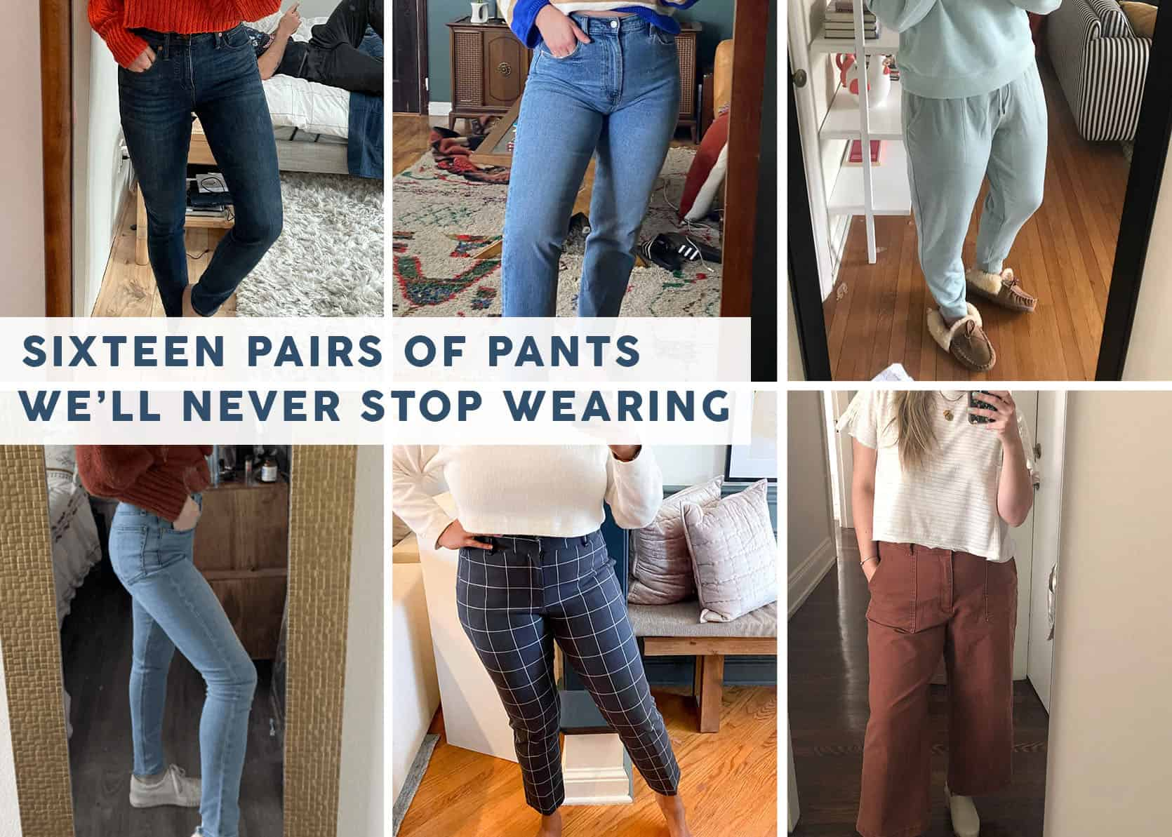 6 Regular Women Show Off The Pants They'd Buy Again In A Heartbeat