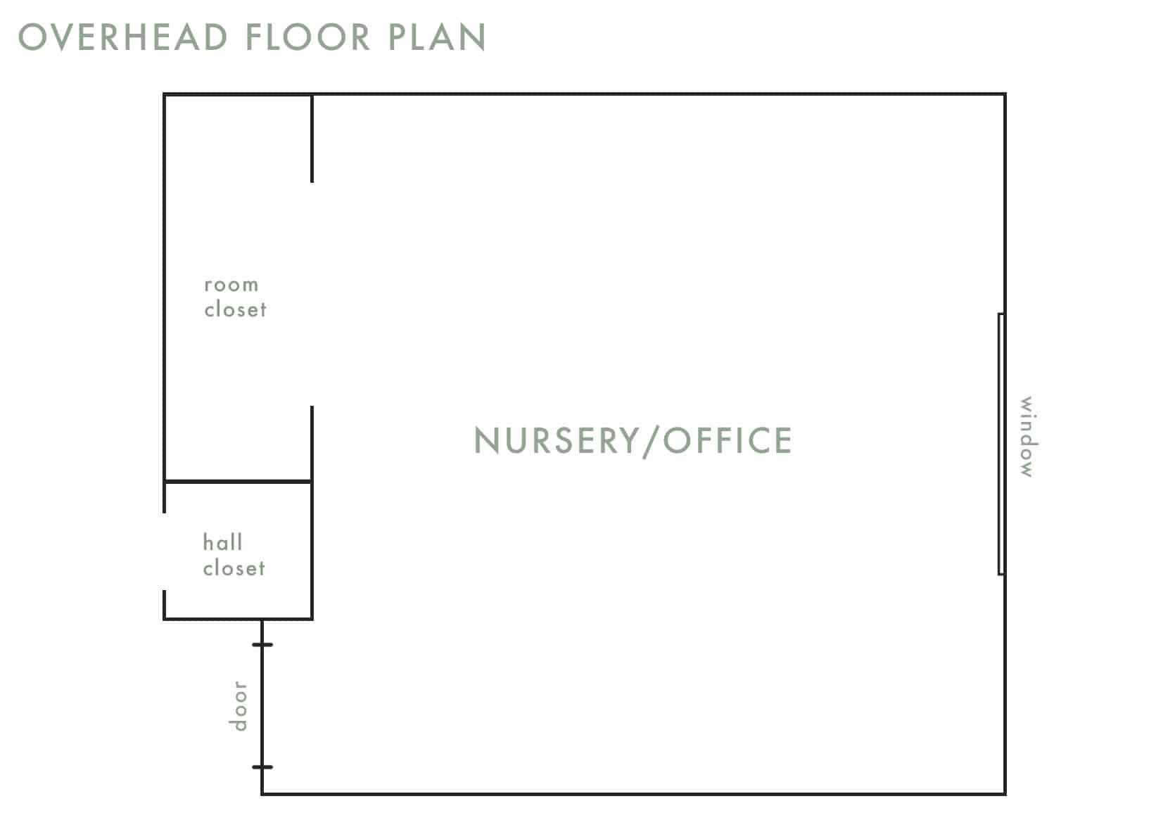 Emily Henderson Cailtin Nursery MOTO Intro Floor Plan
