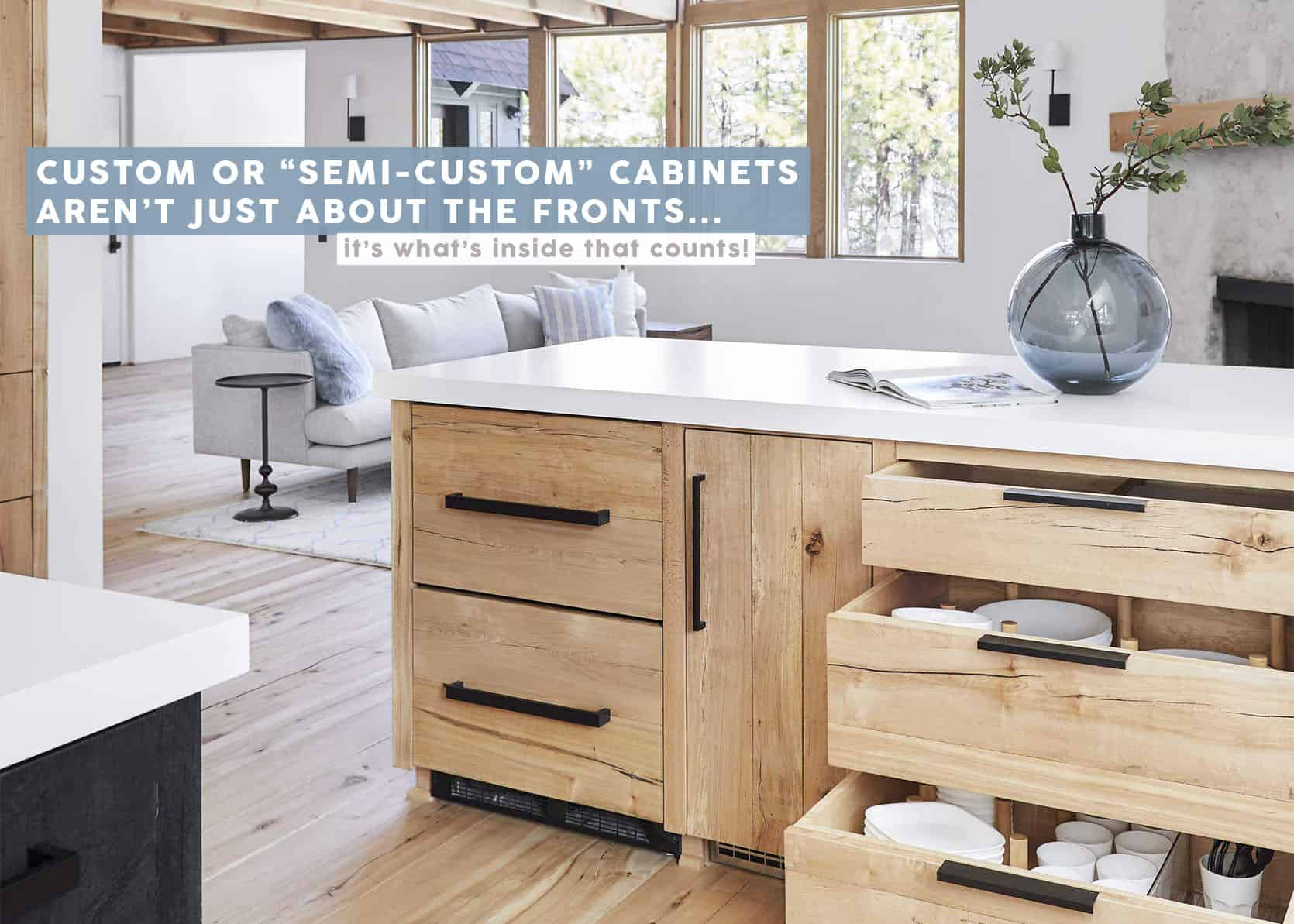Semi-Custom Cabinets Don't Stop At The Fronts (And IKEA Isn't Your Only Budget-Friendly Option Anymore)