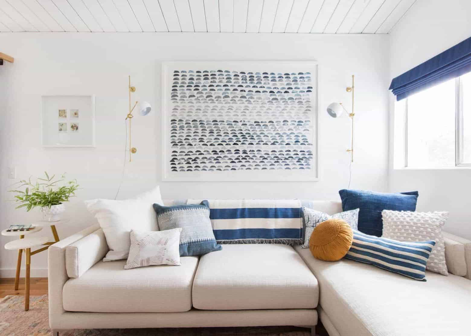 Affordable Large Scale Art How To Get It In Your Home Emily Henderson