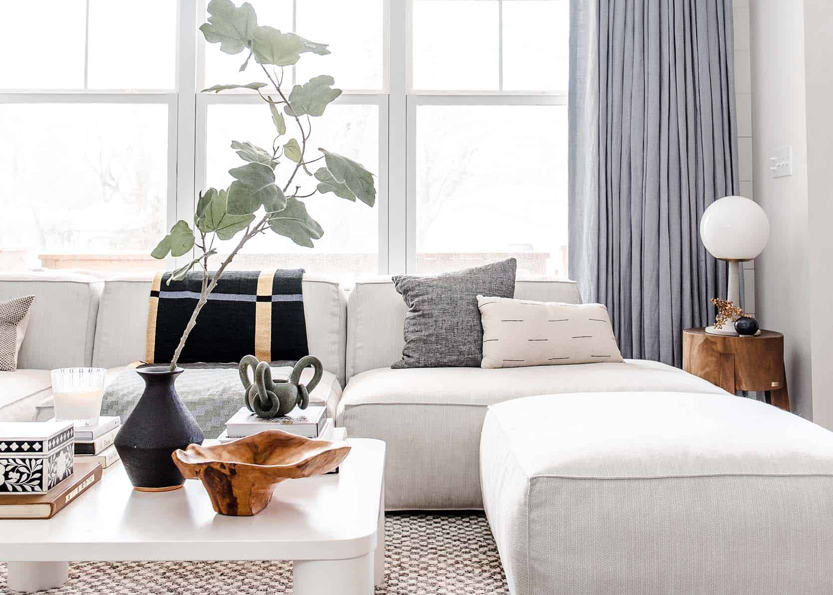 Lea's Living Room Reveal: Her Pet And Family-Friendly Open Concept Design Agony SOLVED