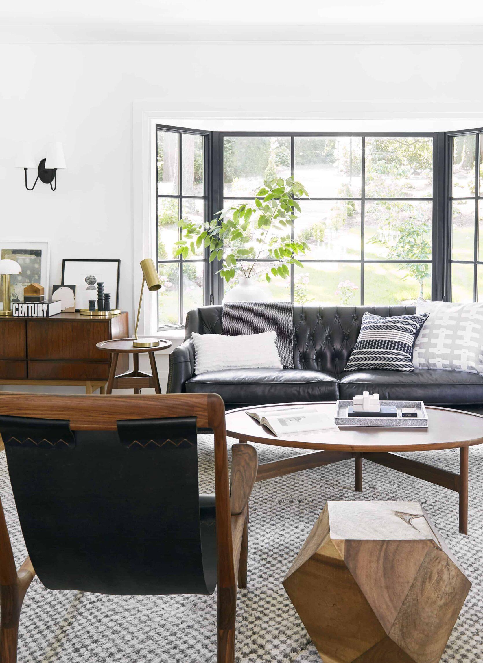 Emily Henderson Portland Traditional Living Room5