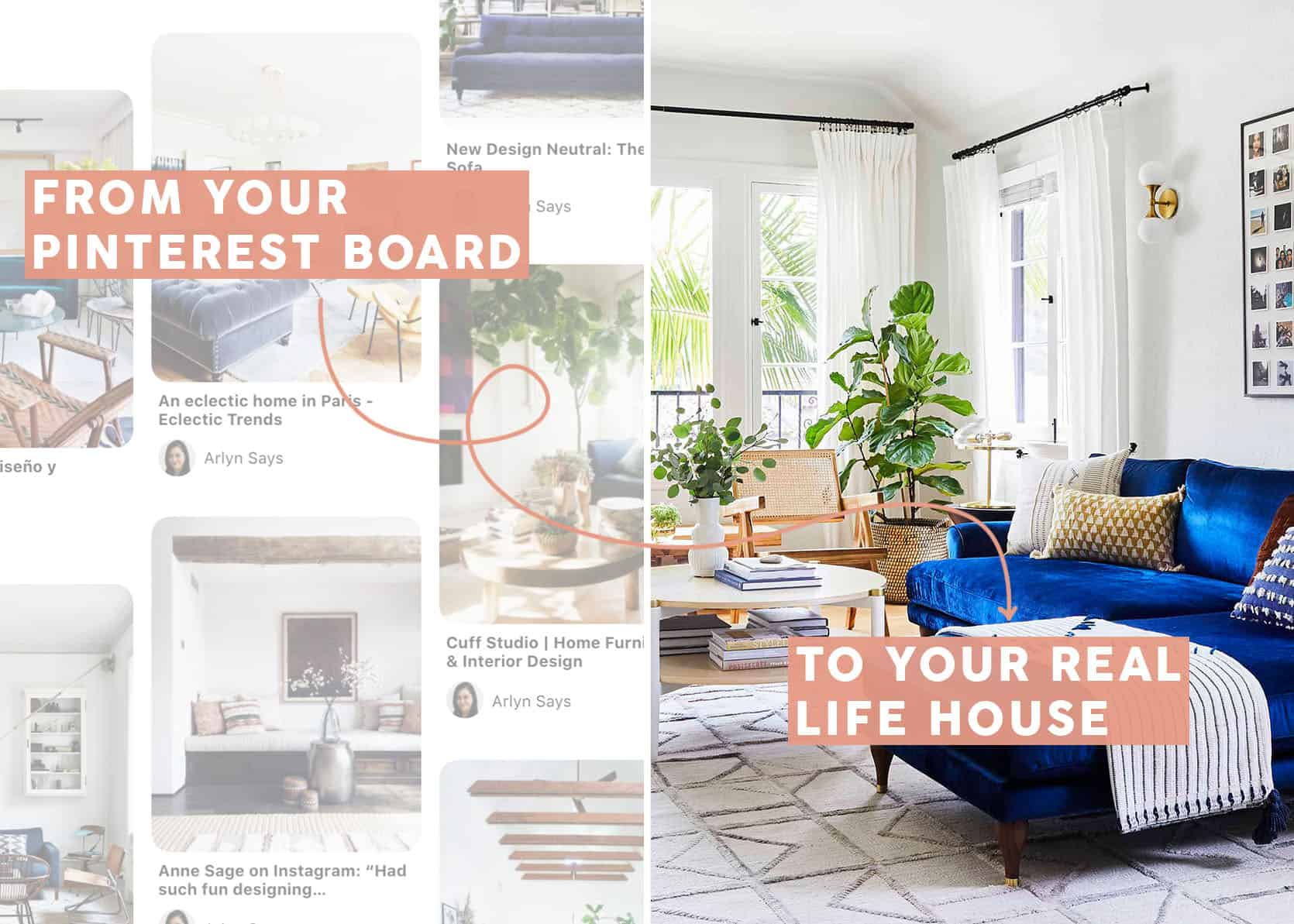 How to Beat Pinterest Paralysis & *Actually* Design Your Dream Space