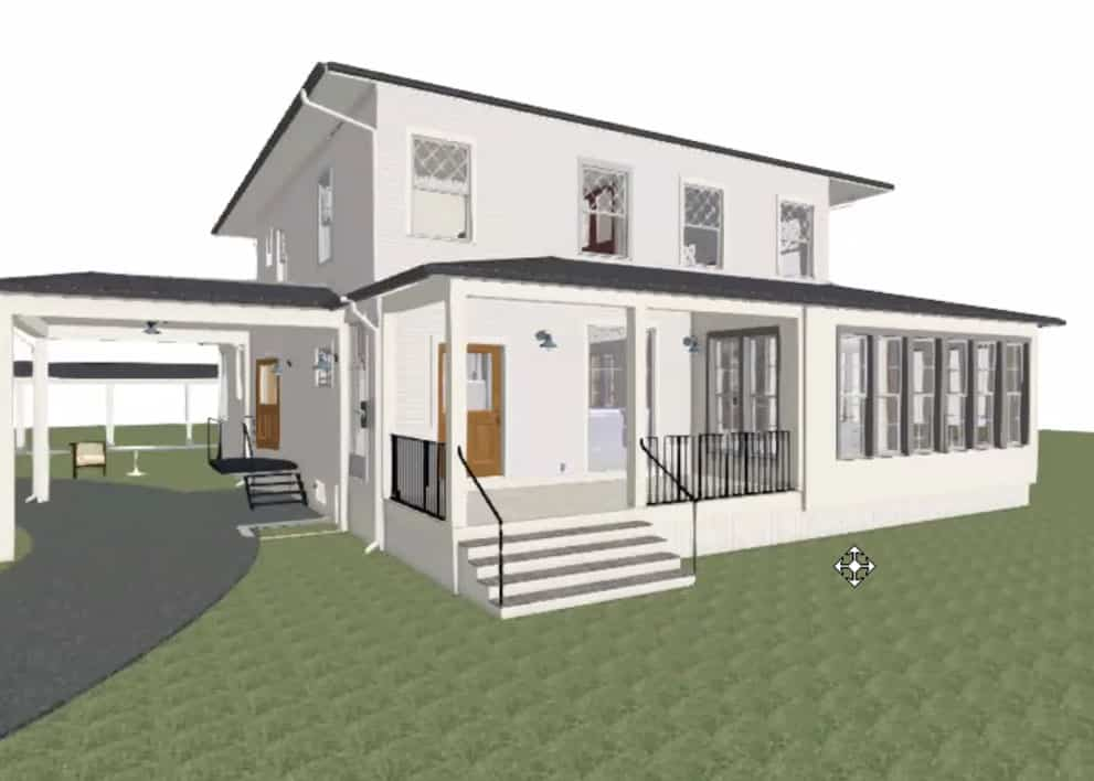 Emily Henderson Farmhouse Decisions Covered Porch 1