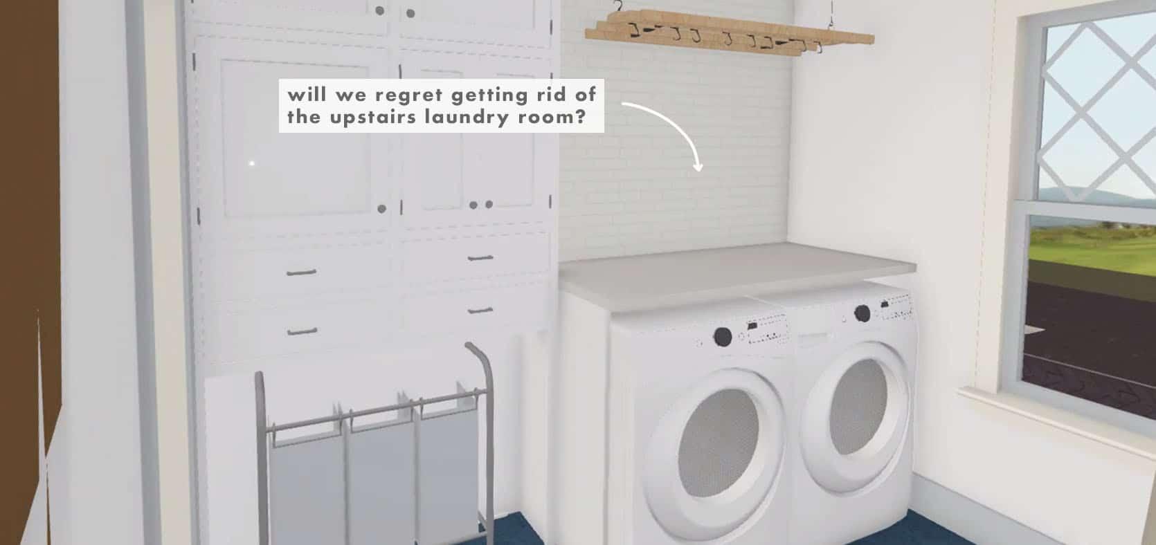 Emily Henderson Farmhouse Decisions Laundry Room 1