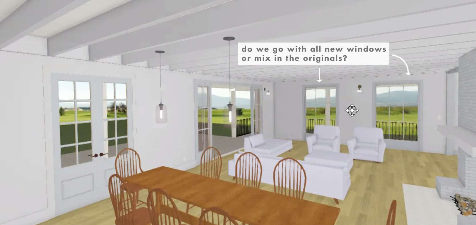 Emily Henderson Farmhouse Decisions New or Old Windows 1