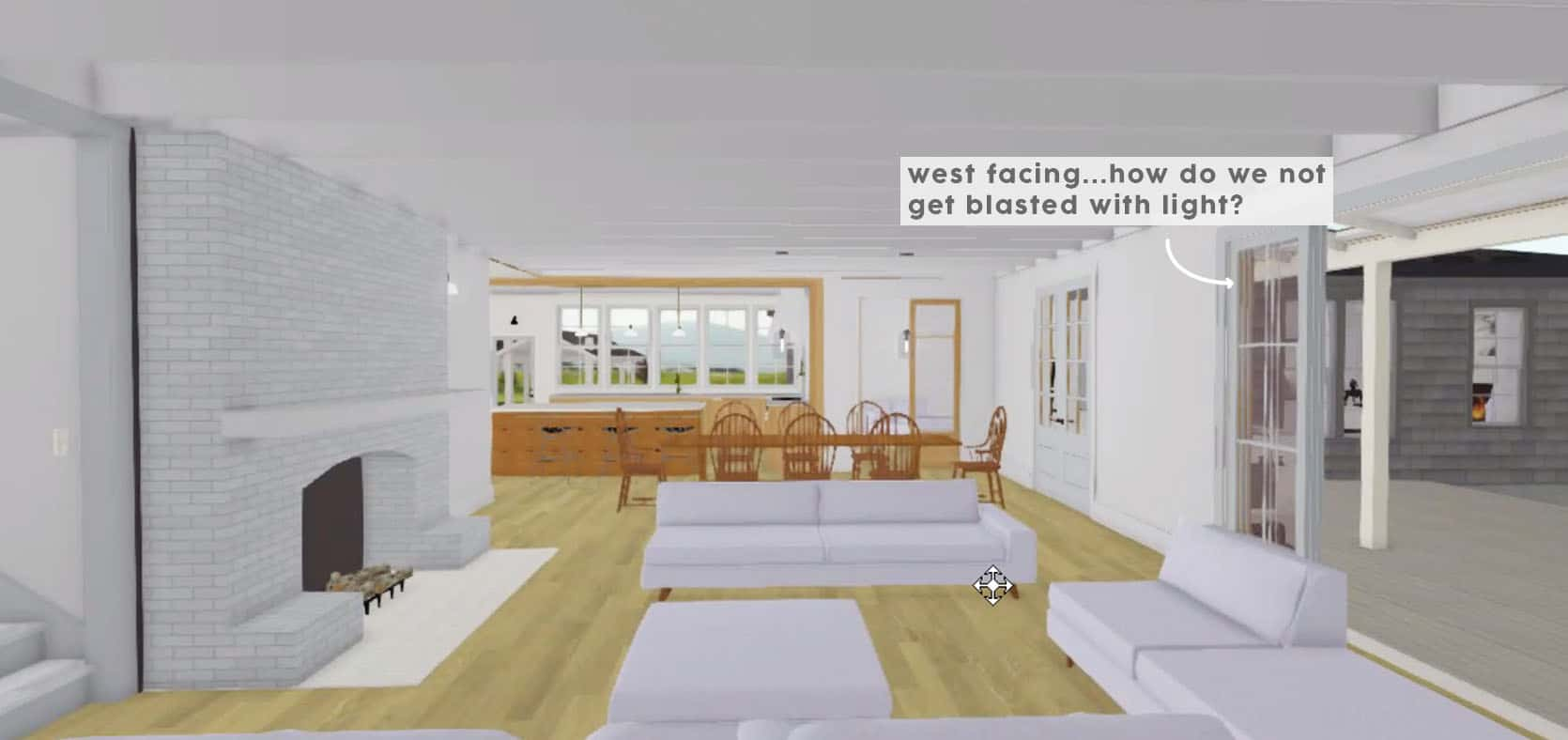 Emily Henderson Farmhouse Decisions West Facing Living Room 2