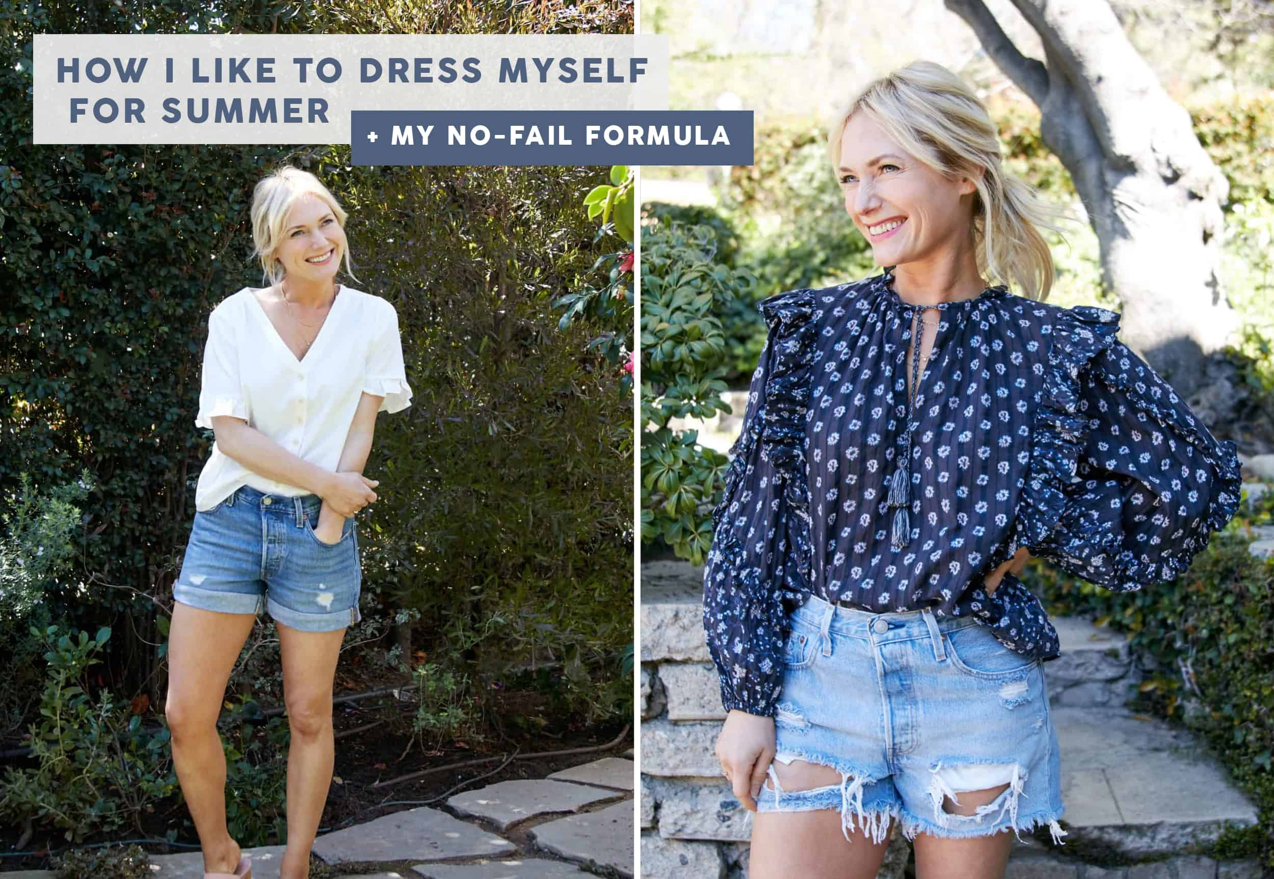 My Summer Uniform: The 3-5 Pieces I Love Wearing That Makes Getting Dressed SO Easy