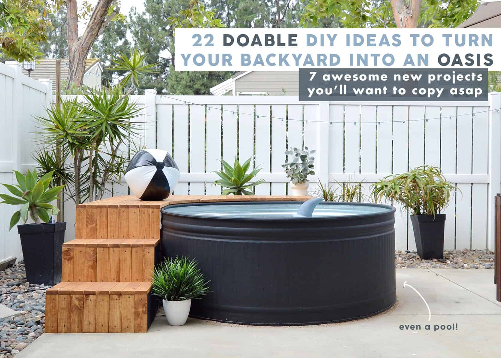 The 2021 Showemyourdiy 22 Diy Ideas To Transform Your Sad Backyard Into Your Favorite Place Emily Henderson