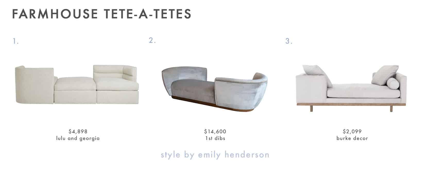 Emily Henderson Farmhouse Shopping List Tete A Tete