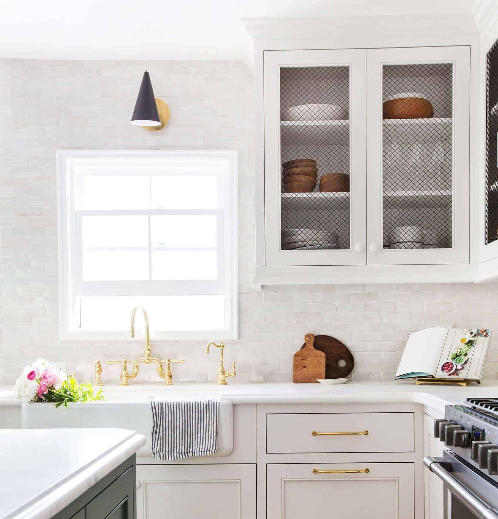 Emily Henderson Full Kitchen Reveal Waverly Frigidaire Tile 2