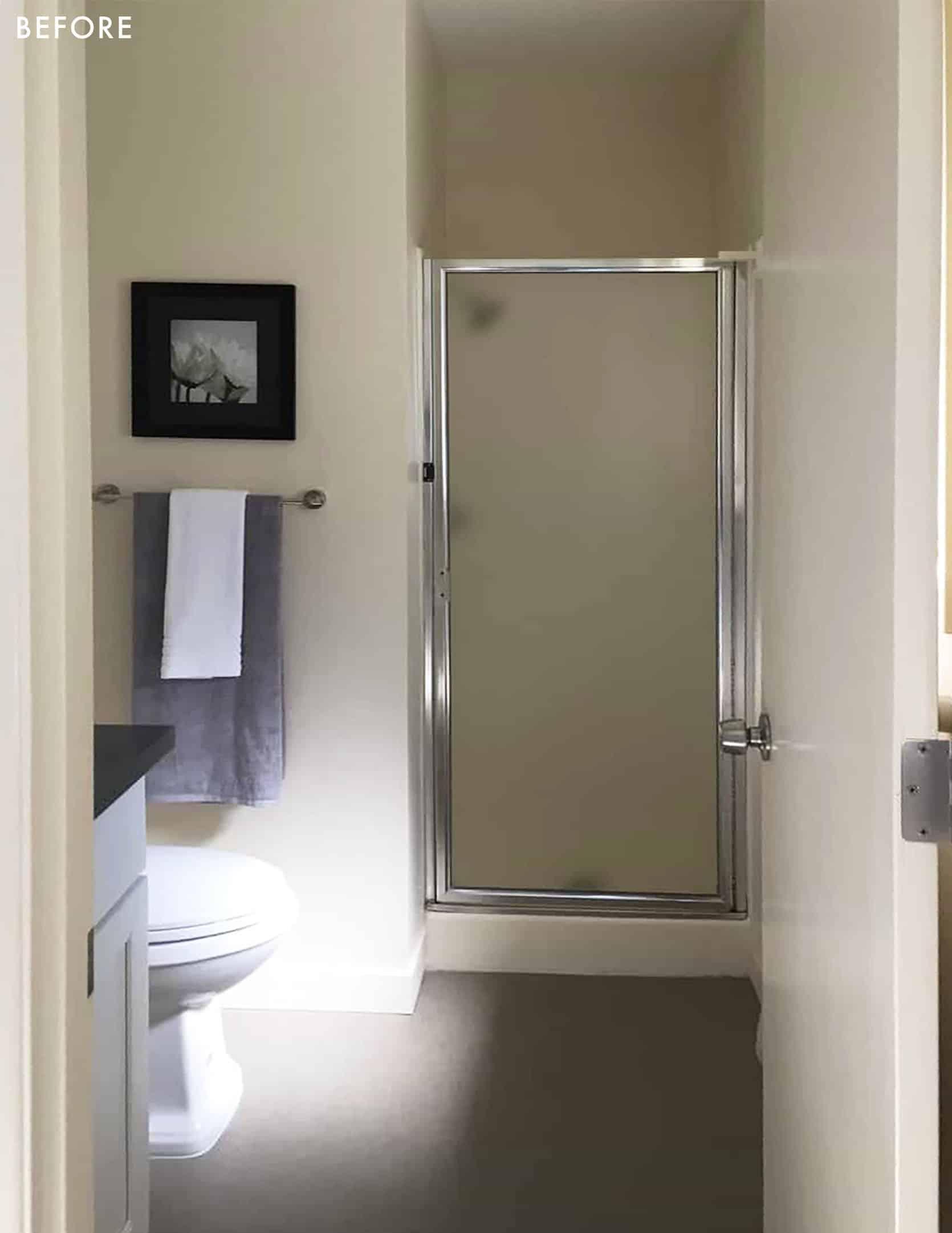 Emily Henderson Max Humphrey Home Before Bathroom