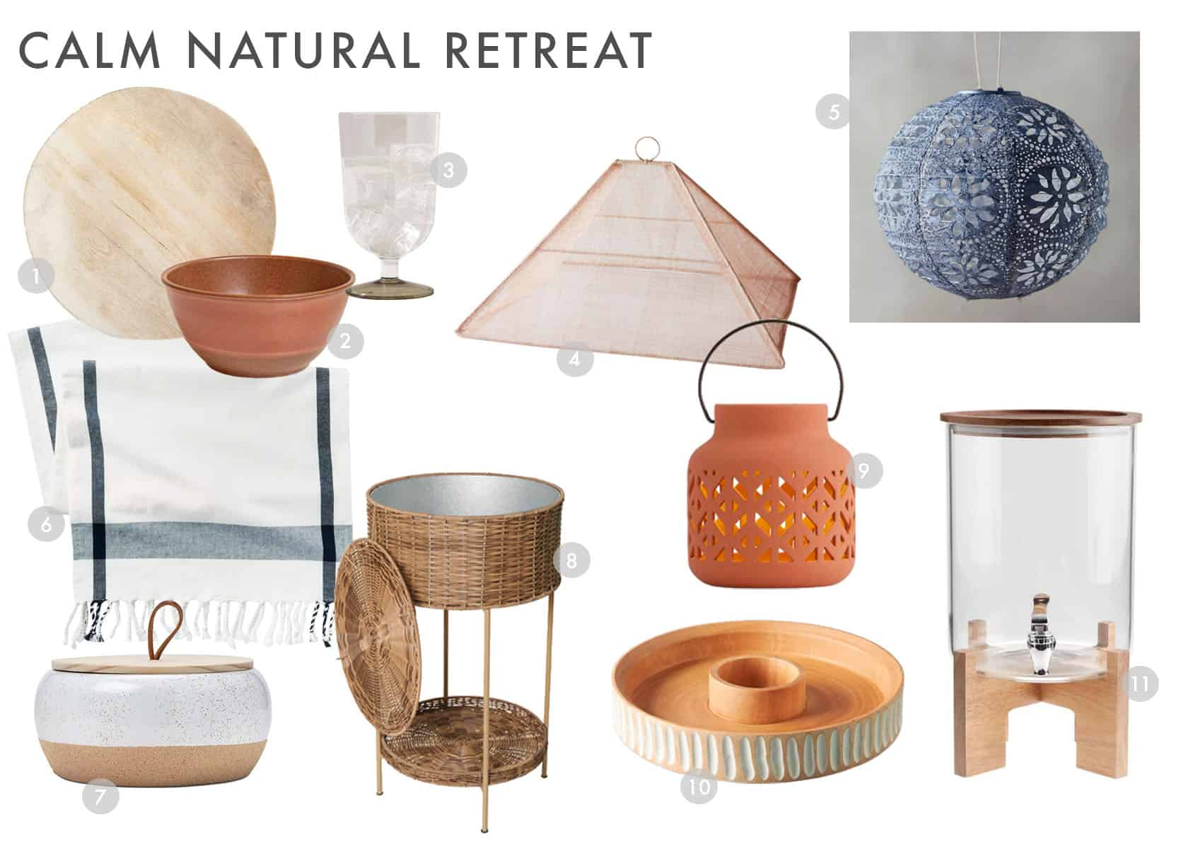 Emily Henderson Outdoor Dining Calm Natural Retreat 2