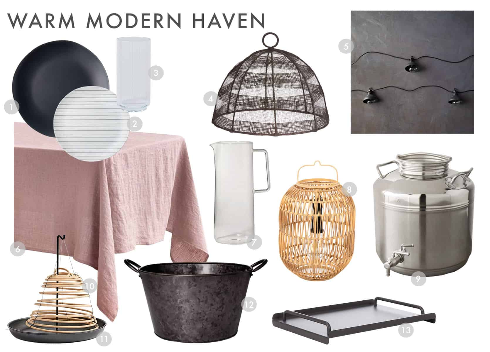 Emily Henderson Outdoor Dining Modern Cool Haven