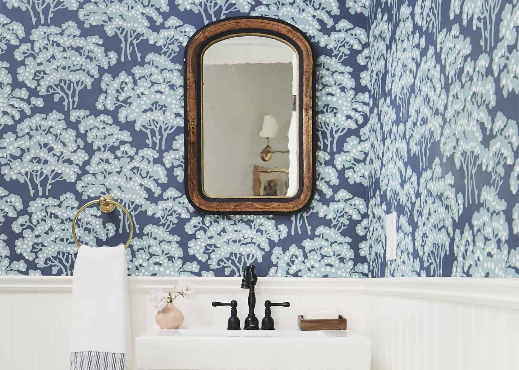 9 Affordable (Budget) Powder Room Designs (But LOTS Of Inspo And Products For Full Bath Renos)