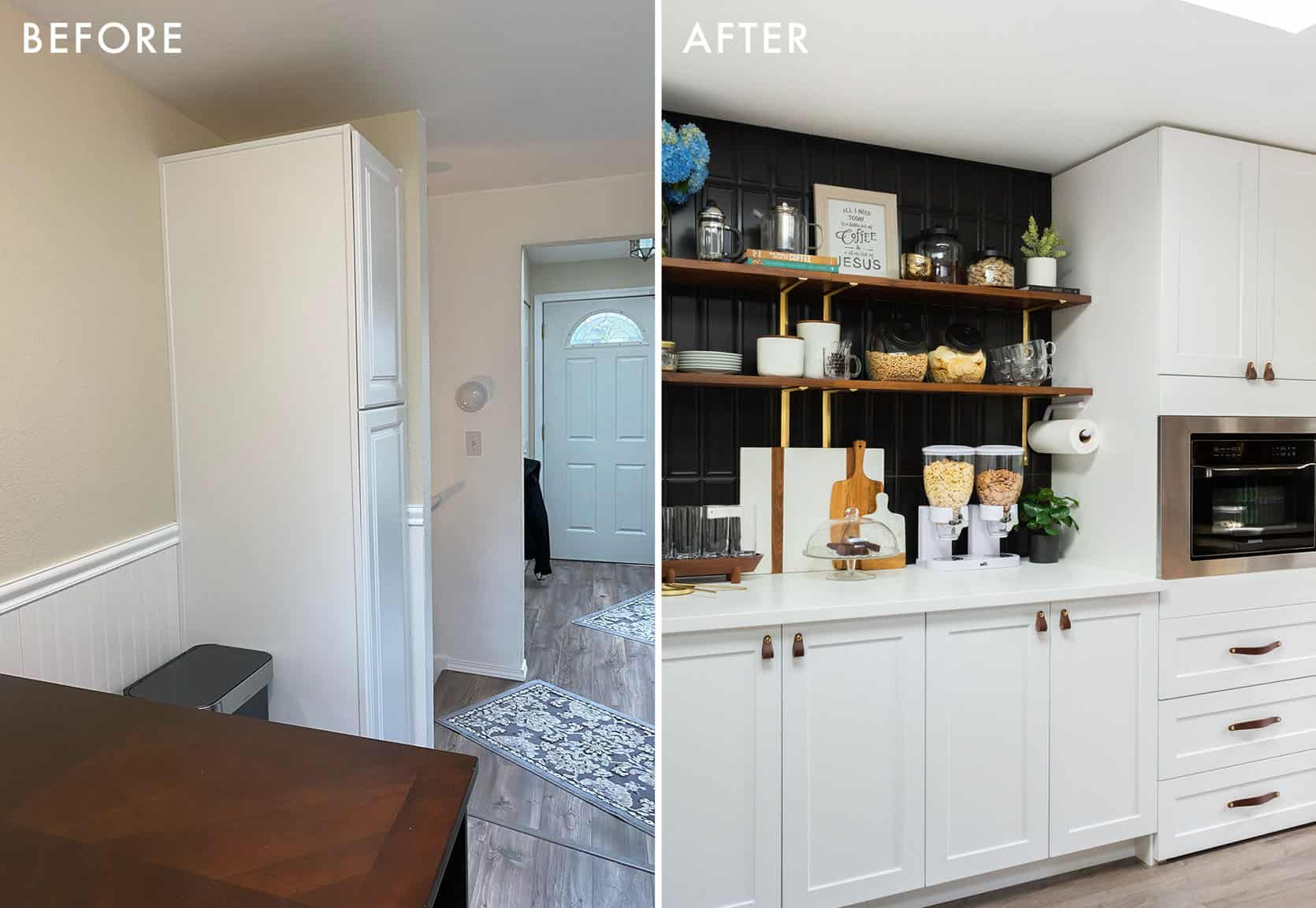 Albies Kitchen Before and After1