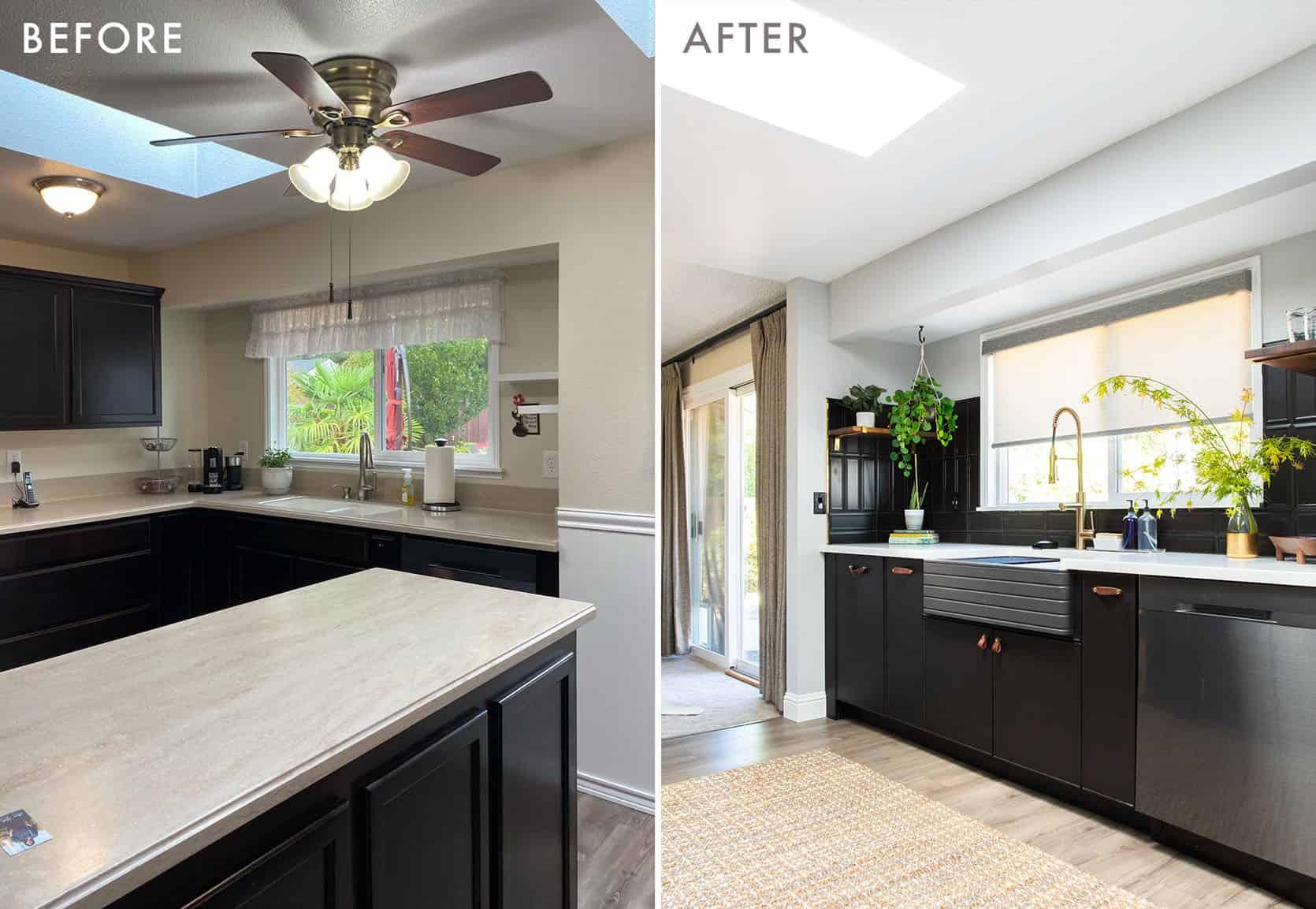 Albies Kitchen Before and After2