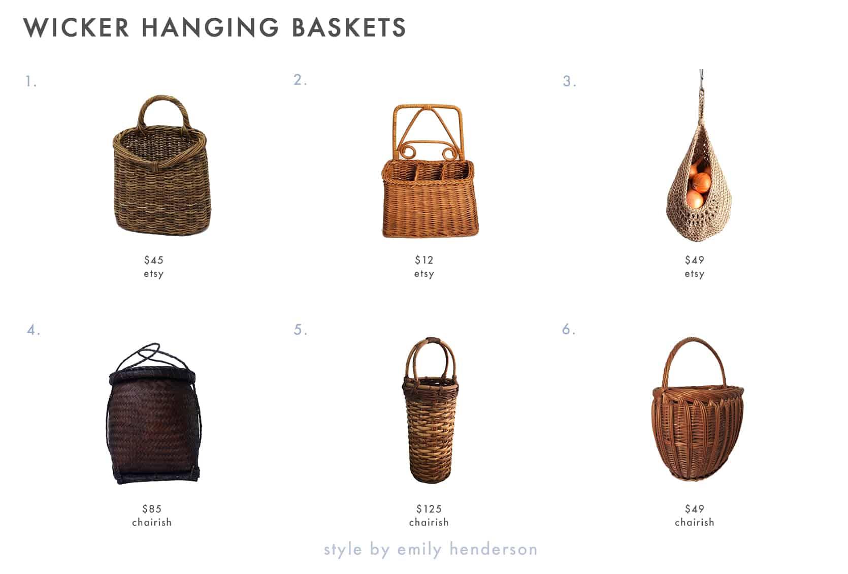 Emily Henderson Wicker Basket Decor 1