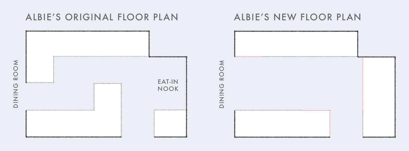 Emily Henderson Albie Buabeng Kitchen Floor Plans