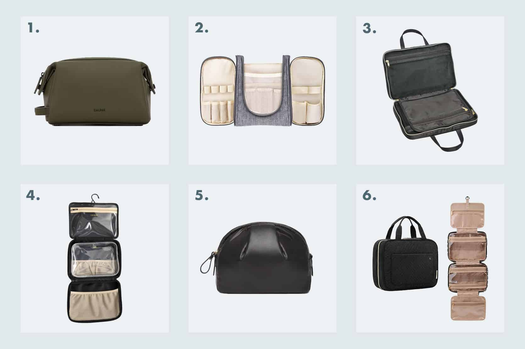 Emily Henderson Best luggage Toiletry Bags 1