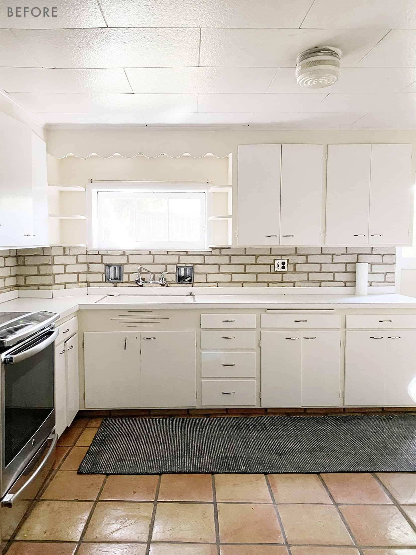 Emily Henderson Coco Kelley Basement Kitchen Reveal Before 2