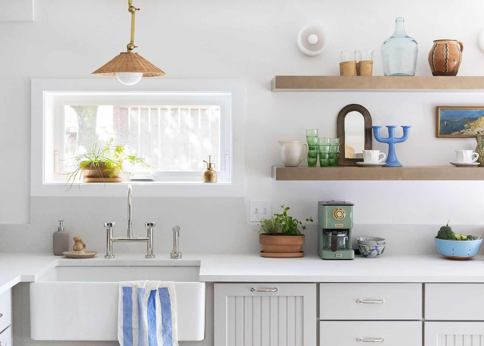 Coco Kelly's Basement Kitchen Reveal!! + A Case For That One Original Design Element You Hate Becoming Your Favorite