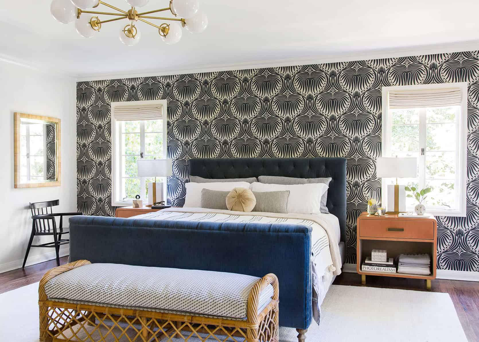 Here's How Much Caitlin Spent Installing Permanent Wallpaper In Her Rental (With All Your FAQs Answered From Prep To Finish)
