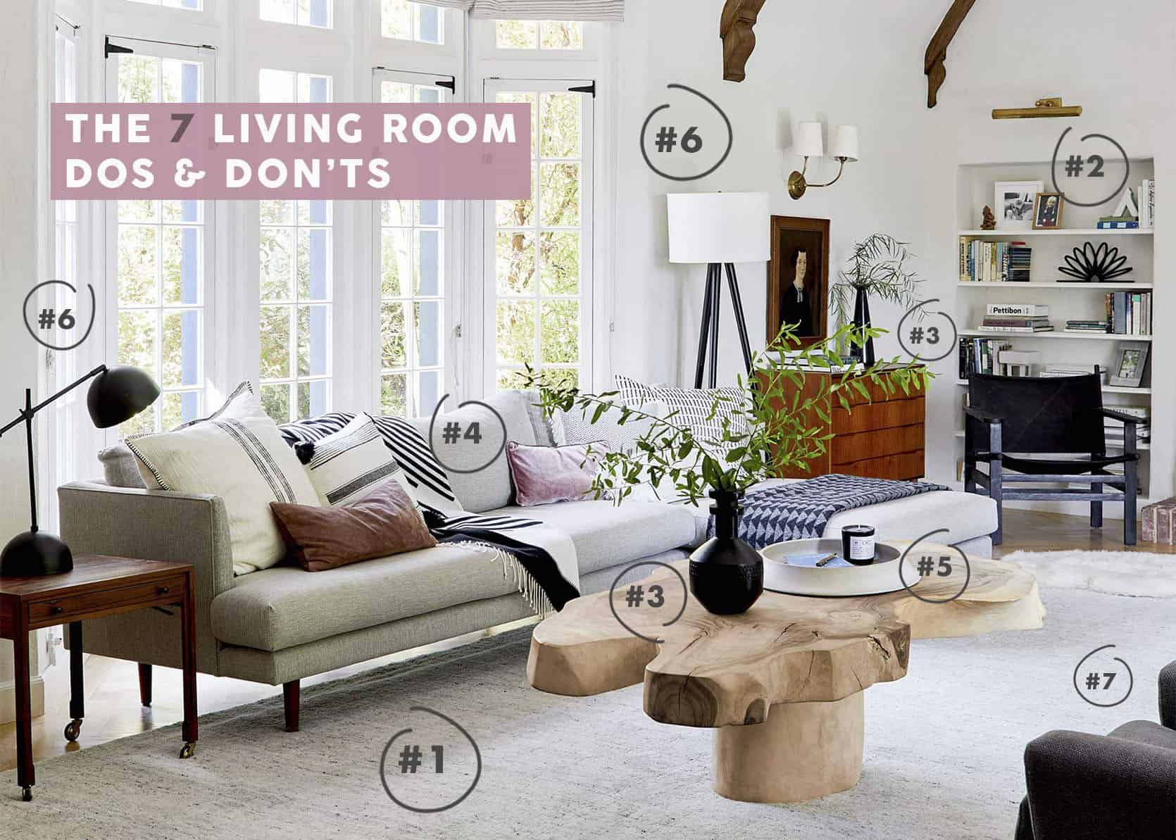 How To Make Your Living Room Look Better (The 7 Dos and Don'ts)