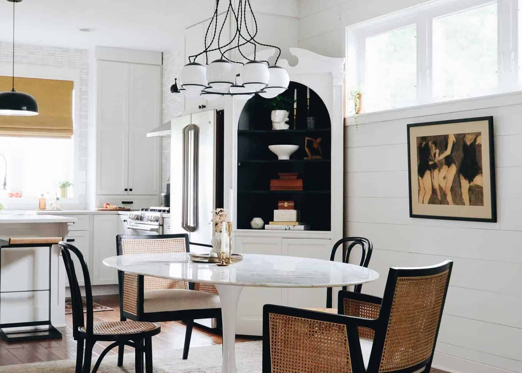 Dining Room Design Agony: How Lea Plans To Design Her Walk Through Dining Room To Feel Cohesive