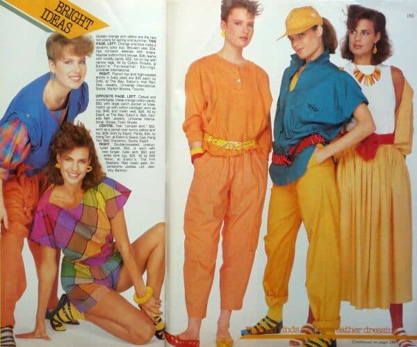 80s Fashion For Women Neon Colors And it s not although Orlando