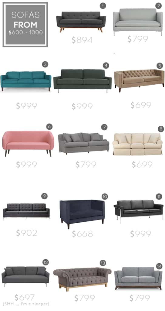 Best Sofas under $1000_budget sofa_modern_midcentury_affordable_roundup_emily henderson_revised1